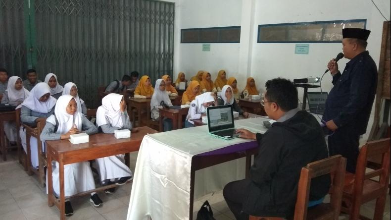 Pelatihan Jurnalistik Siswa SMK Muhammadiyah Purwodadi 2019