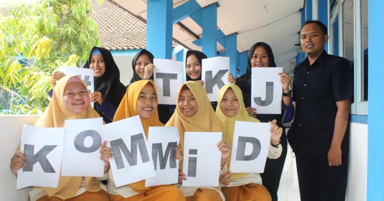 Angkatan Kedua KoMMiD TKJ SMK Muhammadiyah Purwodadi
