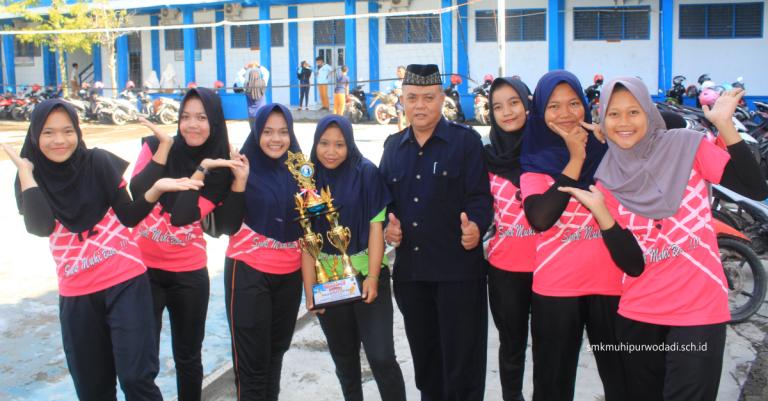 Tim Bola Voli Putri SMK Muhammadiyah Purwodadi
