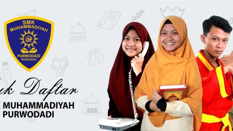 Yuk Daftar SMK Muhammadiyah Purwodadi