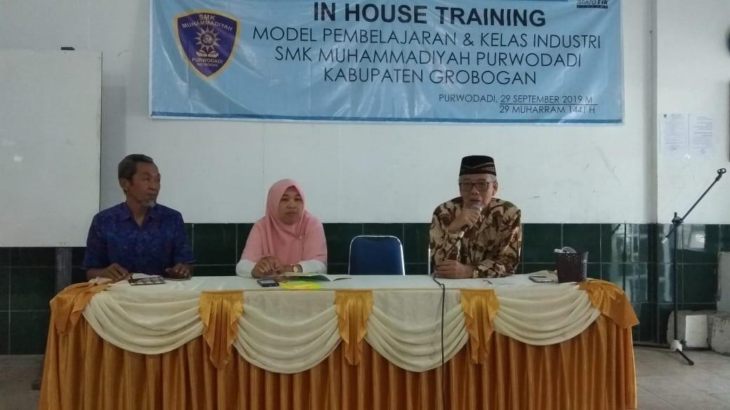 In House Training SMK Muhammadiyah Purwodadi